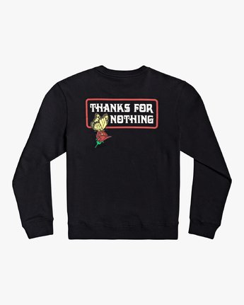 1 Nothing - Sweatshirt for Men Black U1CRRARVF0 RVCA