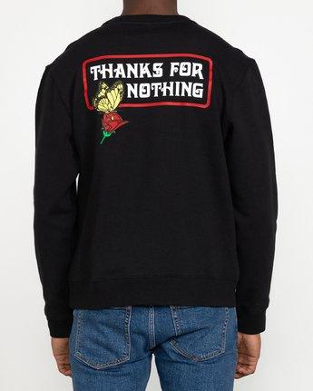 9 Nothing - Sweatshirt for Men Black U1CRRARVF0 RVCA