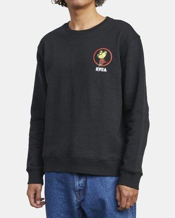 6 Nothing - Sweatshirt for Men Black U1CRRARVF0 RVCA