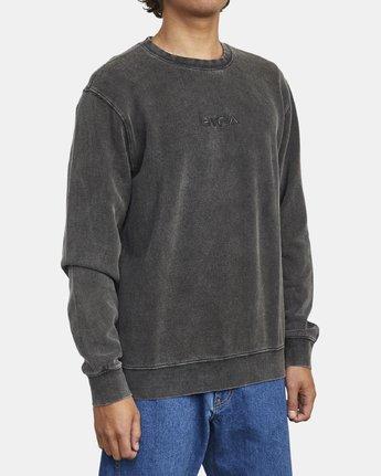 3 Tonally - Sweatshirt for Men Black U1CRRBRVF0 RVCA