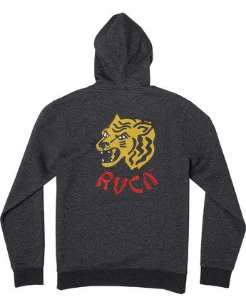 1 Dynasty - Hoodie for Men Grey U1HORBRVF0 RVCA