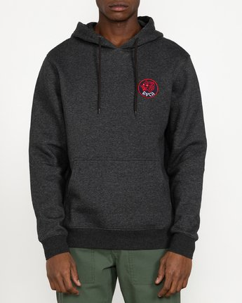 4 Dynasty - Hoodie for Men Grey U1HORBRVF0 RVCA