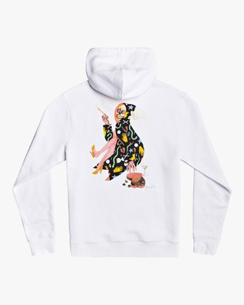 2 Stacey Rozich The Gorgeous Hussy - Hoodie for Men White U1HORCRVF0 RVCA