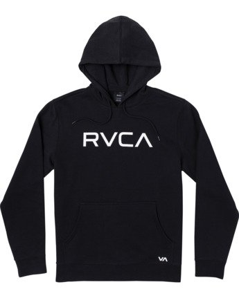 0 Big RVCA - Hoodie for Men Black U1HORFRVF0 RVCA