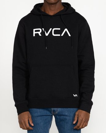 8 Big RVCA - Hoodie for Men Black U1HORFRVF0 RVCA