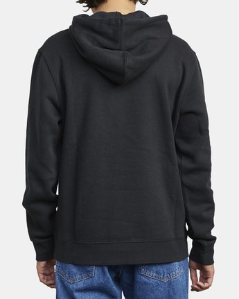 5 Big RVCA - Hoodie for Men Black U1HORFRVF0 RVCA