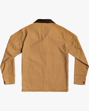 3 Chainmail - Jacke mit Knopfleiste für Männer Gelb U1JKRBRVF0 RVCA