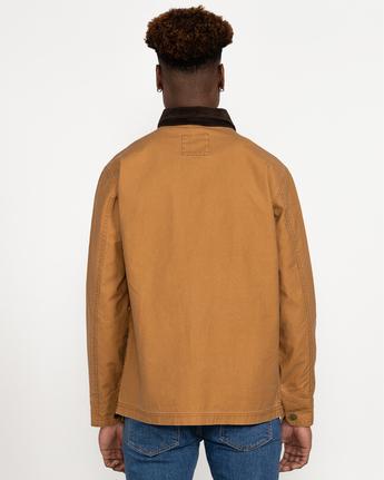 5 Chainmail - Jacke mit Knopfleiste für Männer Gelb U1JKRBRVF0 RVCA