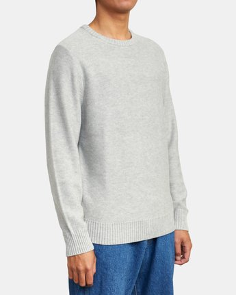 4 Witz Marl - Jumper for Men White U1JPRBRVF0 RVCA