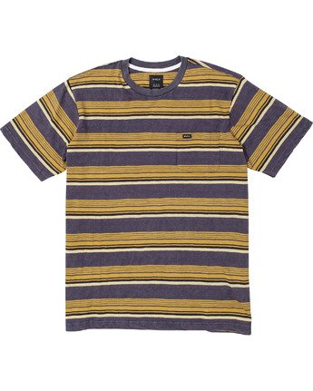 Ventura Stripe - Short Sleeve Top for Men  U1KTRBRVF0