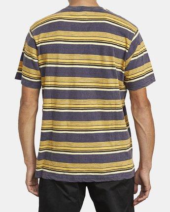 3 Ventura Stripe - Haut manches courtes pour Homme  U1KTRBRVF0 RVCA