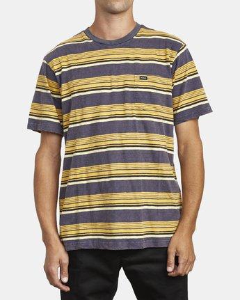 2 Ventura Stripe - Haut manches courtes pour Homme  U1KTRBRVF0 RVCA