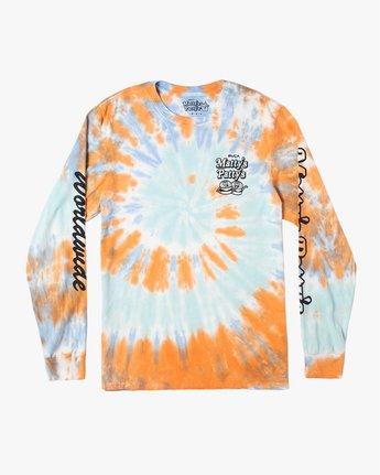 Mattys Pattys BBQ - Long Sleeve T-Shirt for Men  U1LSMARVF0