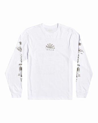 0 Jesse Brown Vision Flash - T-shirt pour Homme Blanc U1LSRERVF0 RVCA