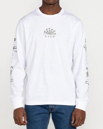2 Jesse Brown Vision Flash - T-shirt pour Homme Blanc U1LSRERVF0 RVCA