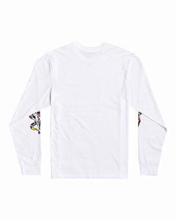 1 Bert Krak Krak Daggers - T-Shirt for Men White U1LSRFRVF0 RVCA