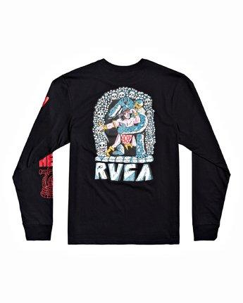 1 Grant Kratzer Barbarian - T-shirt manches longues pour Homme Noir U1LSRGRVF0 RVCA
