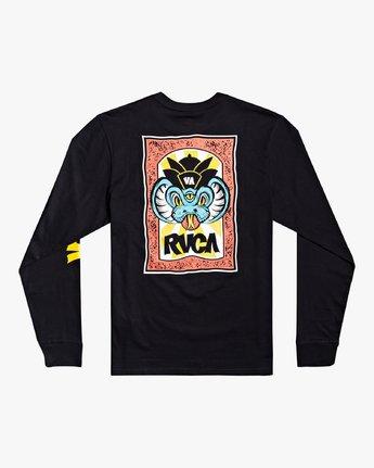 1 Roberto Rodriguez Redondo - Long Sleeve T-Shirt for Men Black U1LSRKRVF0 RVCA