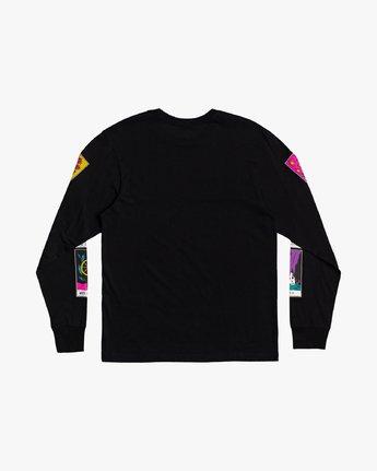1 Superblast Tarot - Long Sleeve T-Shirt for Men Black U1LSSARVF0 RVCA