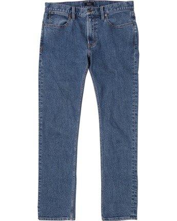 RVCA Rockers - Skinny Fit Jeans for Men  U1PNRFRVF0