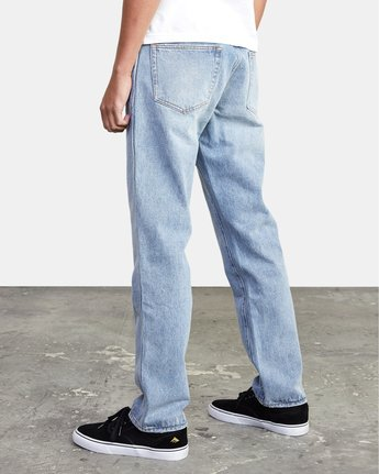 3 Weekend - Straight Fit Jeans for Men  U1PNRJRVF0 RVCA