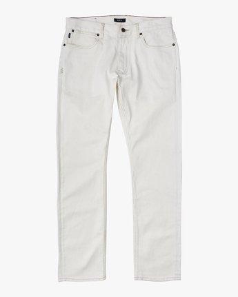 6 Daggers - Slim Fit Jeans for Men White U1PNRQRVF0 RVCA