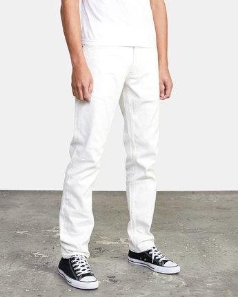 5 Daggers - Slim Fit Jeans for Men White U1PNRQRVF0 RVCA