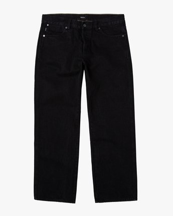 6 Baker RVCA - Relaxed Fit Jeans for Men Black U1PNVARVF0 RVCA