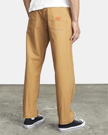 8 Chainmail - Hose mit Relaxed Fit für Männer Gelb U1PTRERVF0 RVCA