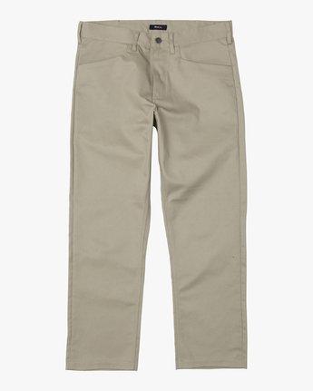 1 New Dawn Pressed - Trousers for Men Green U1PTRHRVF0 RVCA