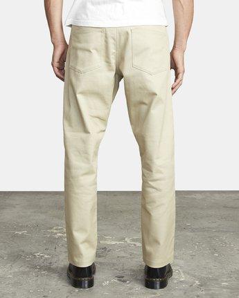 3 New Dawn Pressed - Trousers for Men Green U1PTRHRVF0 RVCA