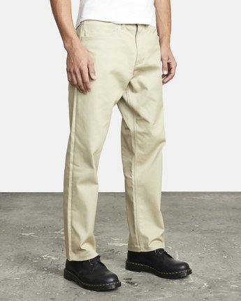 7 New Dawn Pressed - Trousers for Men Green U1PTRHRVF0 RVCA