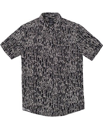 Jungle Fuzz - Short Sleeve Shirt for Men  U1SHRCRVF0