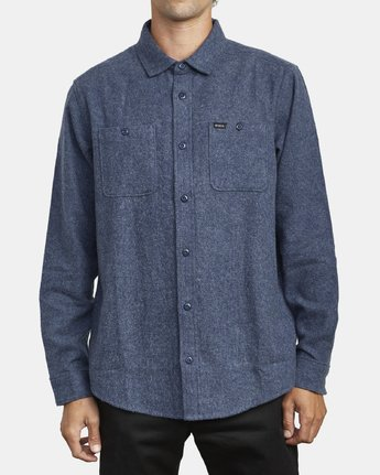 1 Harvest Flannel - Long Sleeve Shirt for Men  U1SHRIRVF0 RVCA