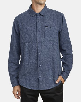 2 Harvest Flannel - Long Sleeve Shirt for Men  U1SHRIRVF0 RVCA