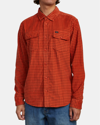 3 Freeman - Long Sleeve Shirt for Men  U1SHRQRVF0 RVCA