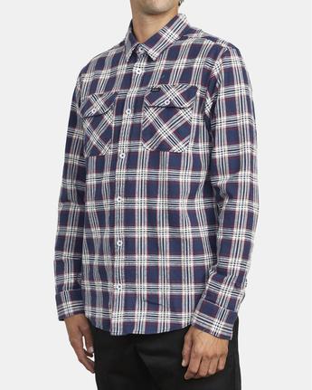 3 Thatll Work Flannel - Long Sleeve Flannel Shirt for Men  U1SHRSRVF0 RVCA