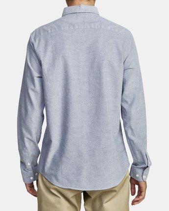 3 Thatll Do Stretch - Long Sleeve Shirt for Men Blue U1SHRTRVF0 RVCA