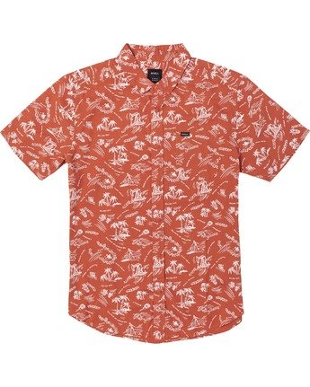 Tropical Disaster - Short Sleeve Shirt for Men  U1SHRVRVF0