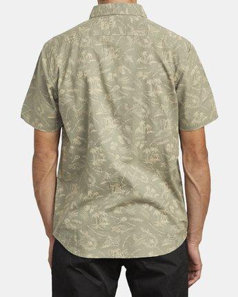 3 Tropical Disaster - Short Sleeve Shirt for Men  U1SHRVRVF0 RVCA