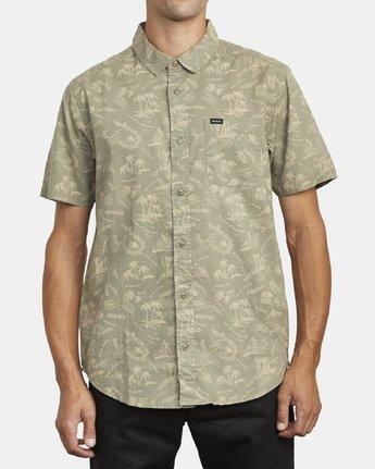 2 Tropical Disaster - Short Sleeve Shirt for Men  U1SHRVRVF0 RVCA