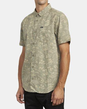 4 Tropical Disaster - Short Sleeve Shirt for Men  U1SHRVRVF0 RVCA