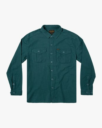 Baker RVCA - Long Sleeve Flannel Shirt for Men  U1SHVBRVF0