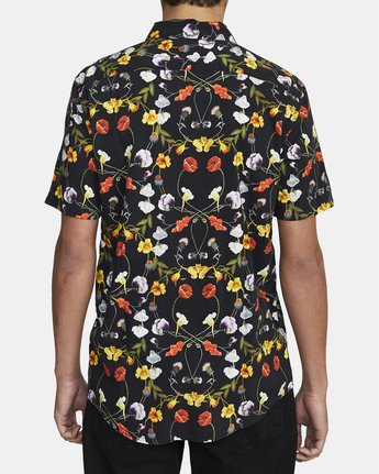 2 Velia Floral - Short Sleeve Shirt for Men  U1SHVDRVF0 RVCA