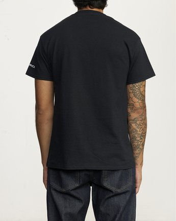 RVCA Destroy Racism - T-Shirt for Men  U1SSBCRVMU