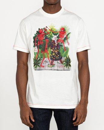 2 Stacey Rozich Bone - T-shirt pour Homme Blanc U1SSRFRVF0 RVCA