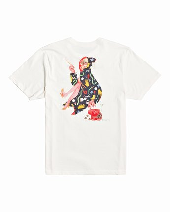 1 Stacey Rozich The Gorgeous Hussy - T-Shirt for Men White U1SSRGRVF0 RVCA