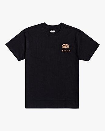 1 Jesse Brown Fauna - T-Shirt for Men Black U1SSRIRVF0 RVCA