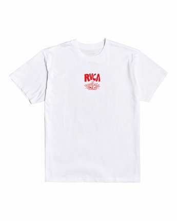 0 Grant Kratzer Barbarian - T-Shirt for Men White U1SSRLRVF0 RVCA