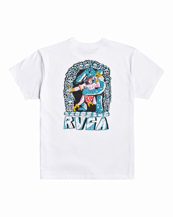 2 Grant Kratzer Barbarian - T-Shirt for Men White U1SSRLRVF0 RVCA